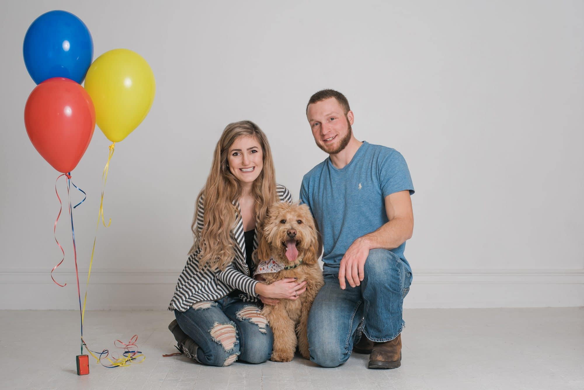 Dog First Birthday Photos | Dog Photo Session | Lafayette Indiana Photographer | Lafayette Indiana Dog Photographer | Luminant Photography | Victoria Rayburn