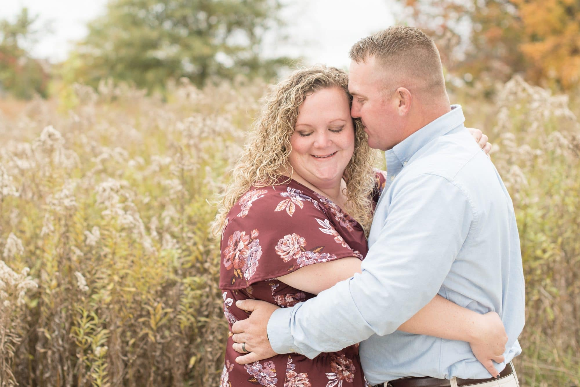 Anniversary photos taken at the Celery Bog in West Lafayette, Indiana by Victoria Rayburn Photography—a Lafayette, Indiana wedding photographer
