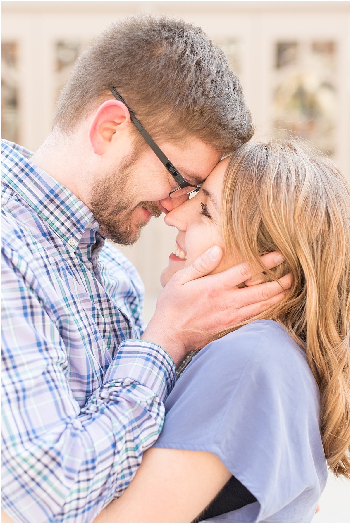 Stephen and Jessica had took their engagement photos in West Lafayette, Indiana.