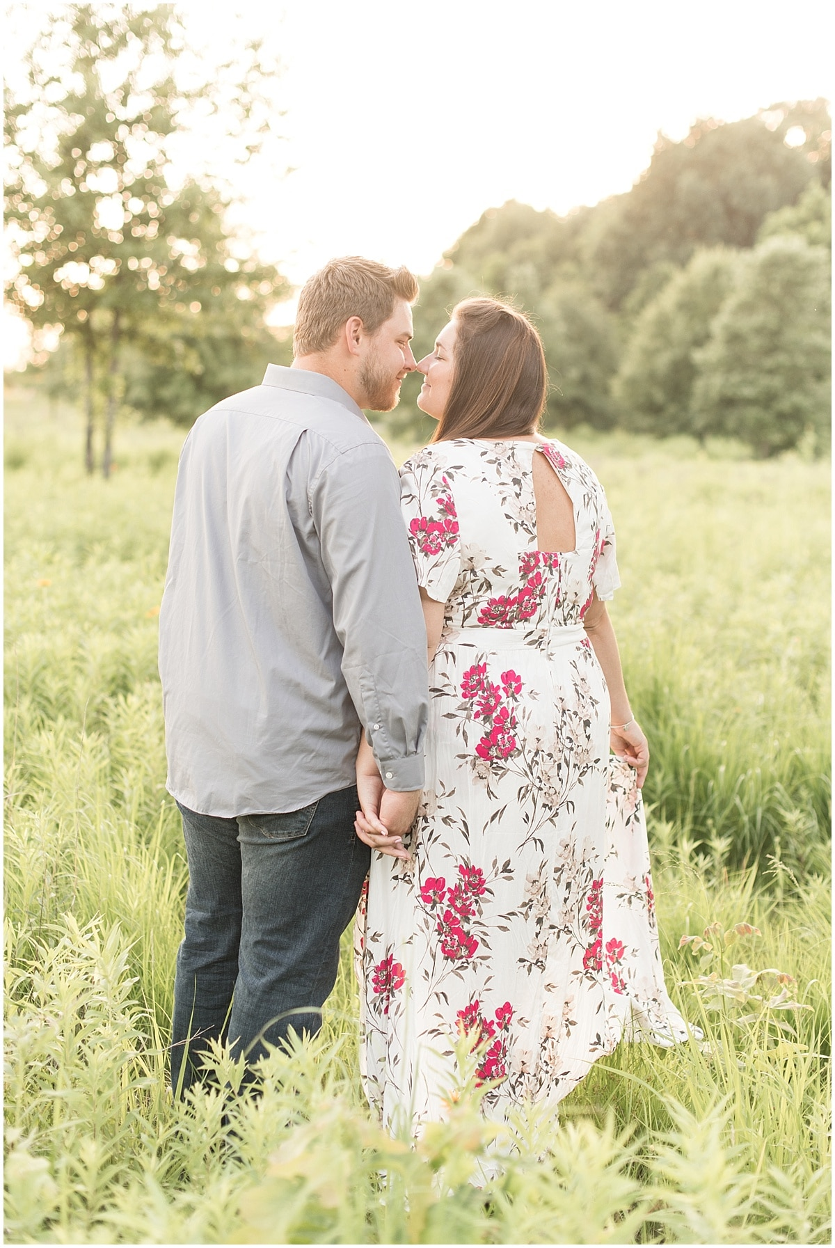 Victoria Rayburn Photography—a wedding photographer—took Chris & Ashley Peterson's engagement photos in Lafayette, Indiana.