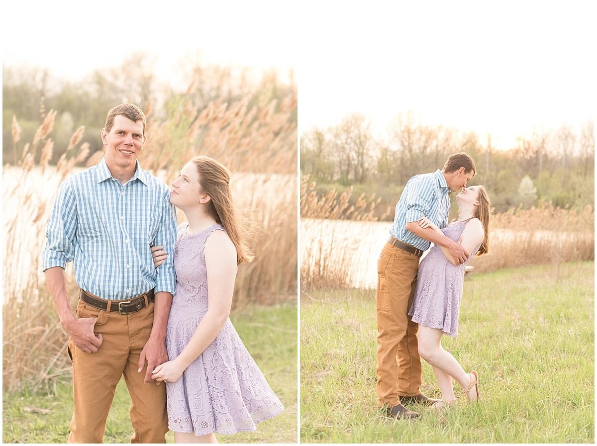 Jordan & Hanna - Engagement Photos at Fairfield Lakes Park - 17.jpg