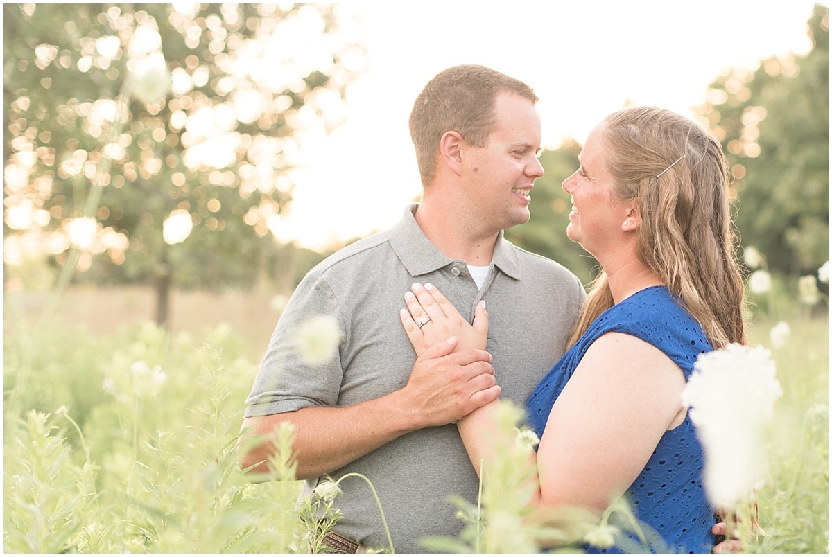 Derek and Katie took their engagement photos at the Celery Bog in West Lafayette, Indiana with Victoria Rayburn Photography.