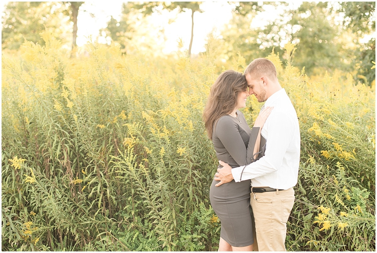 Lafayette, Indiana wedding photographer Victoria Rayburn took Celery Bog engagement photos for Kerry and Kelsey.