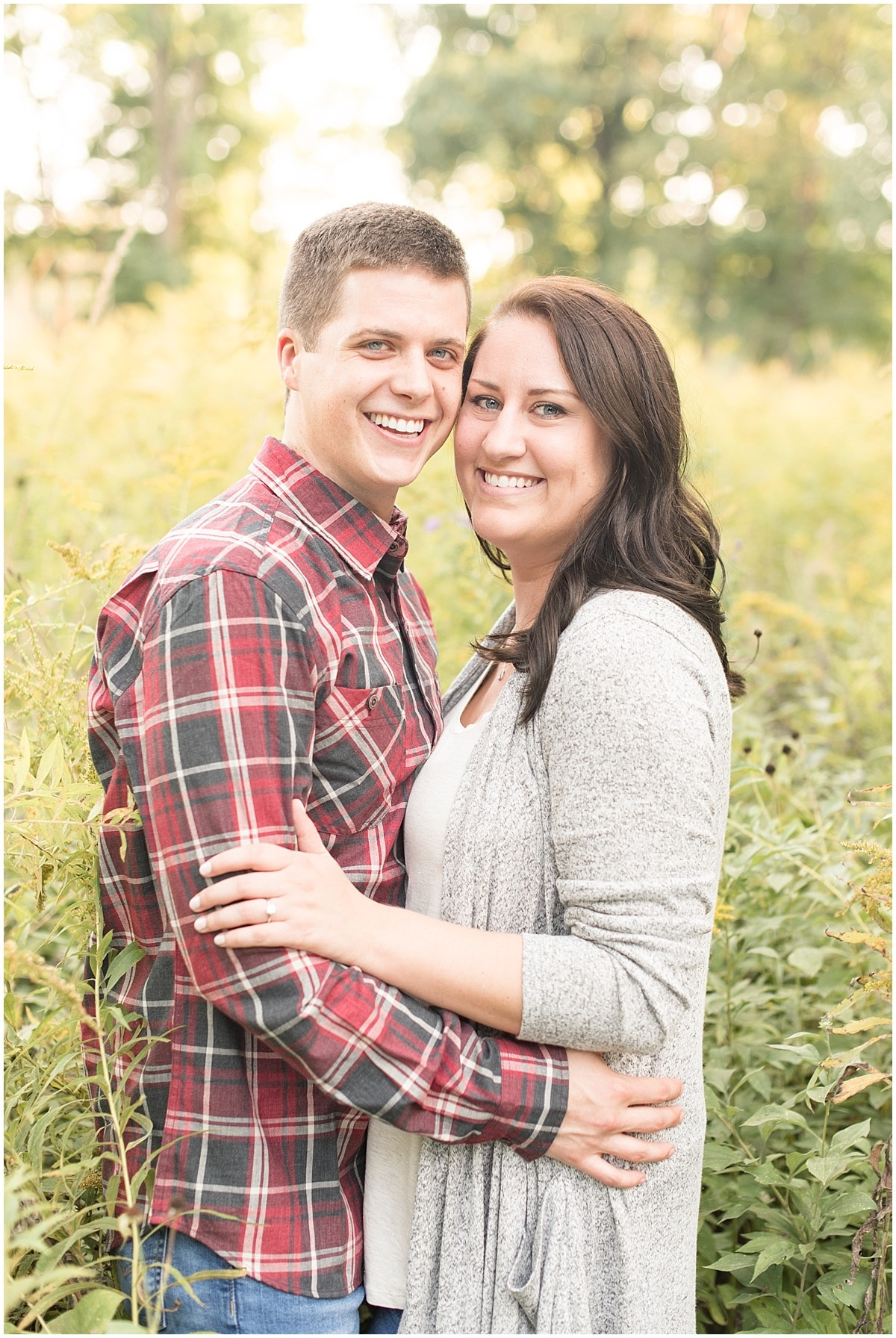 Isaac and Adrienne/ Engagement Photos at Holliday Park in Indianapolis3.jpg