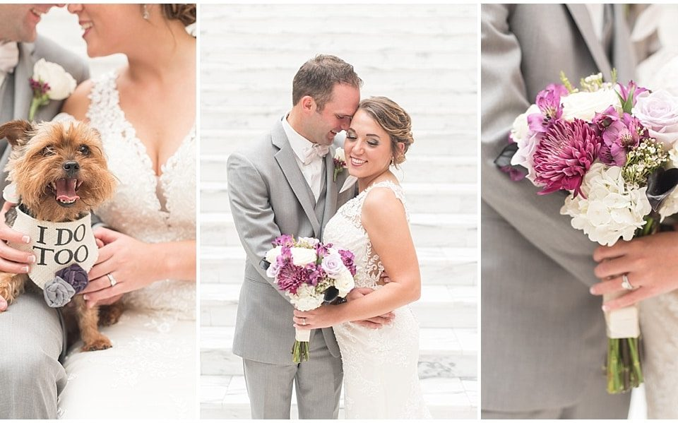 Victoria Rayburn Photography photographed Nile and Haylie Sewards' wedding at the Lahr Atrium in Lafayette, Indiana.