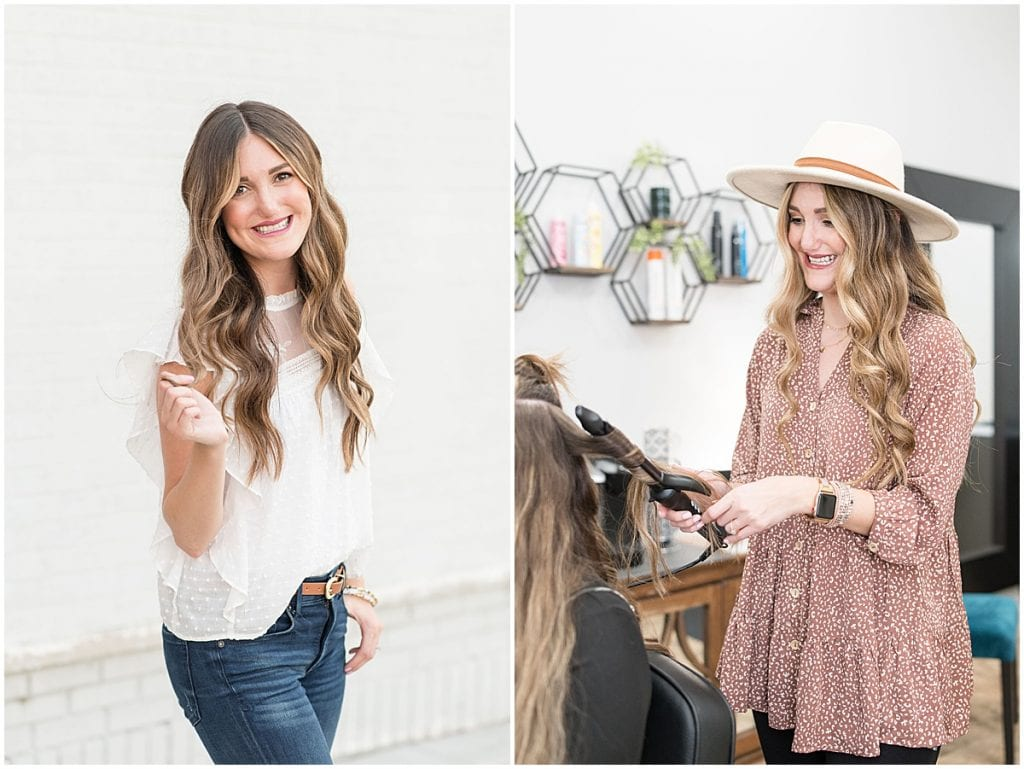 Kelli Taylor—a hairstylist in Lafayette, Indiana