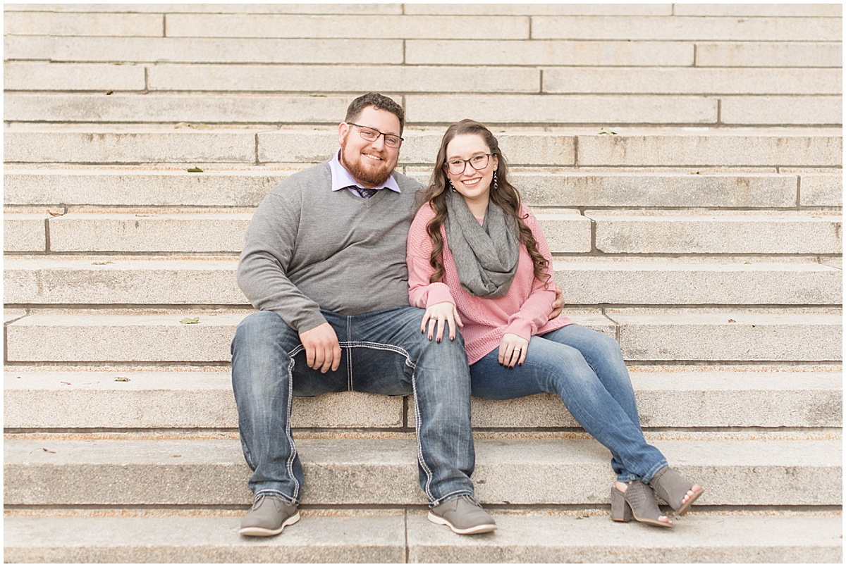 Andrew Rowe and Emily Britton fall engagement photos in West Lafayette Indiana 1.jpg