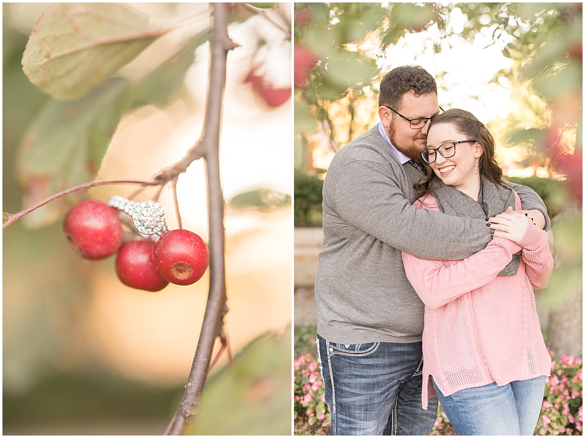 Andrew Rowe and Emily Britton fall engagement photos in West Lafayette Indiana 12.jpg