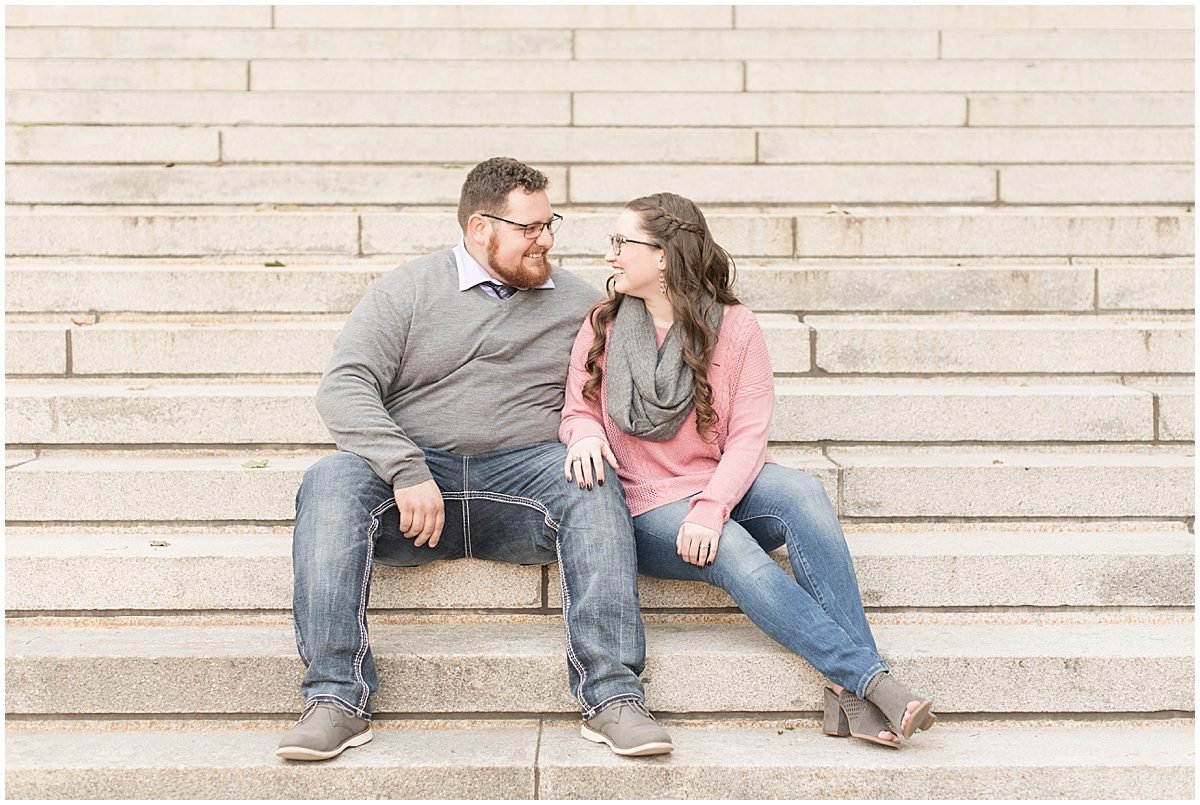 Andrew Rowe and Emily Britton fall engagement photos in West Lafayette Indiana 5.jpg