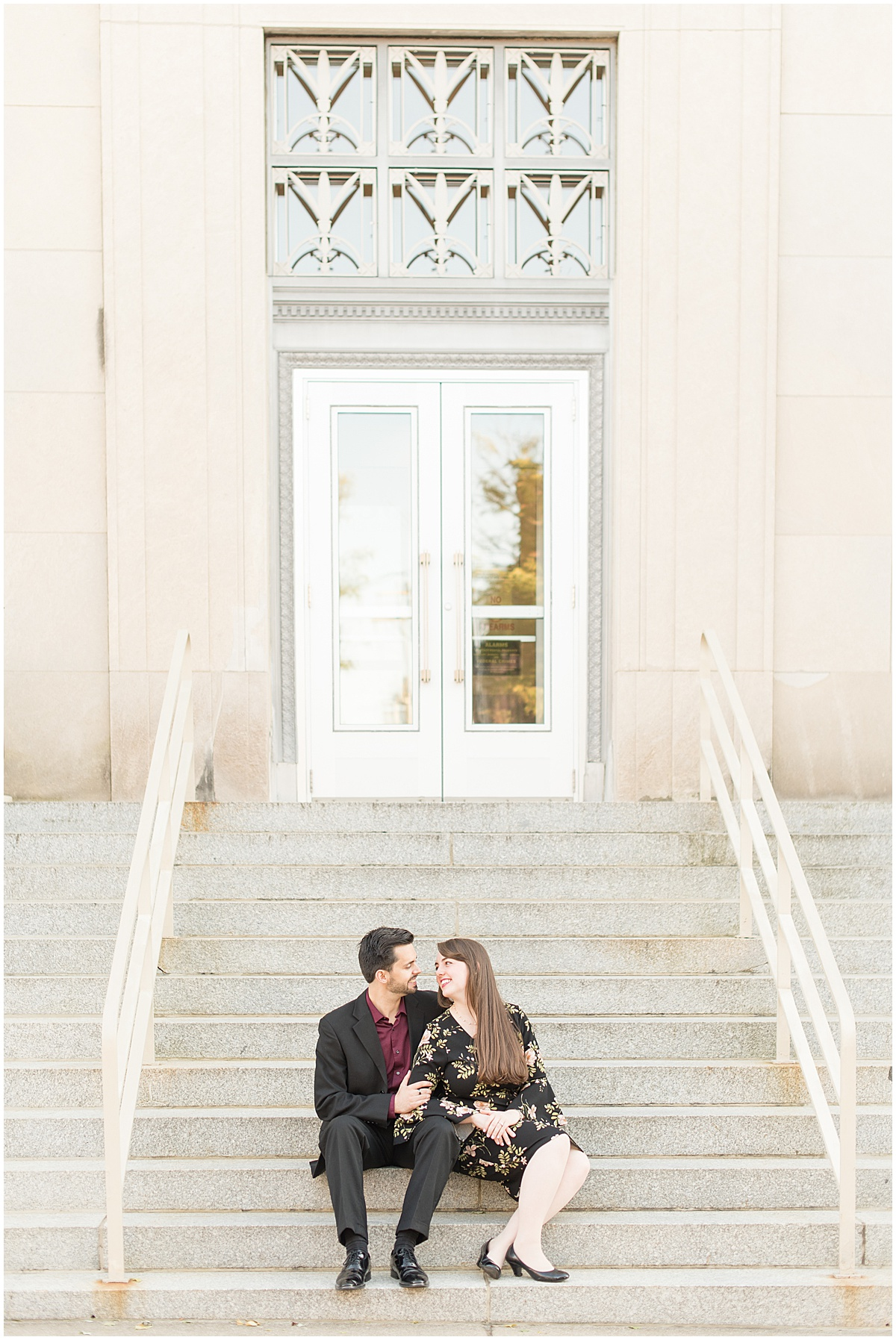 Nick Ballester and Madeline Pingel Engagement Session in Downtown Lafayette Indiana23.jpg