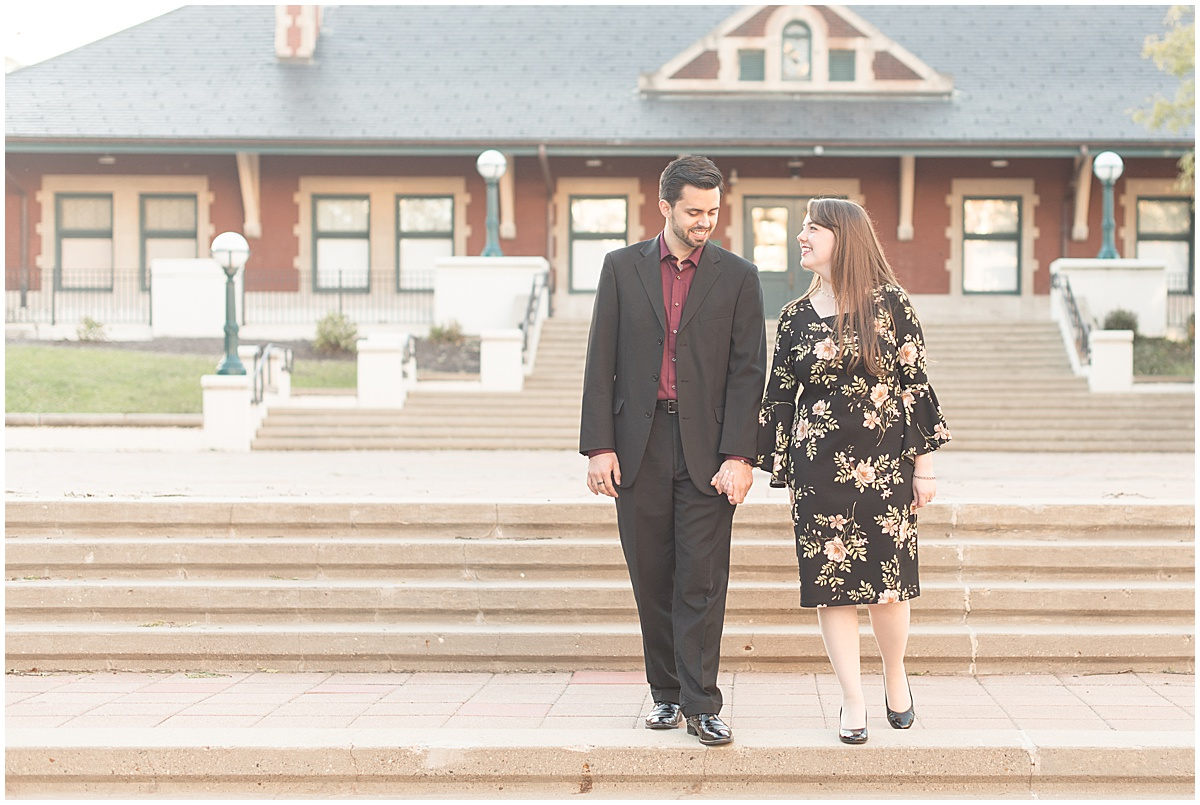 Nick Ballester and Madeline Pingel Engagement Session in Downtown Lafayette Indiana26.jpg