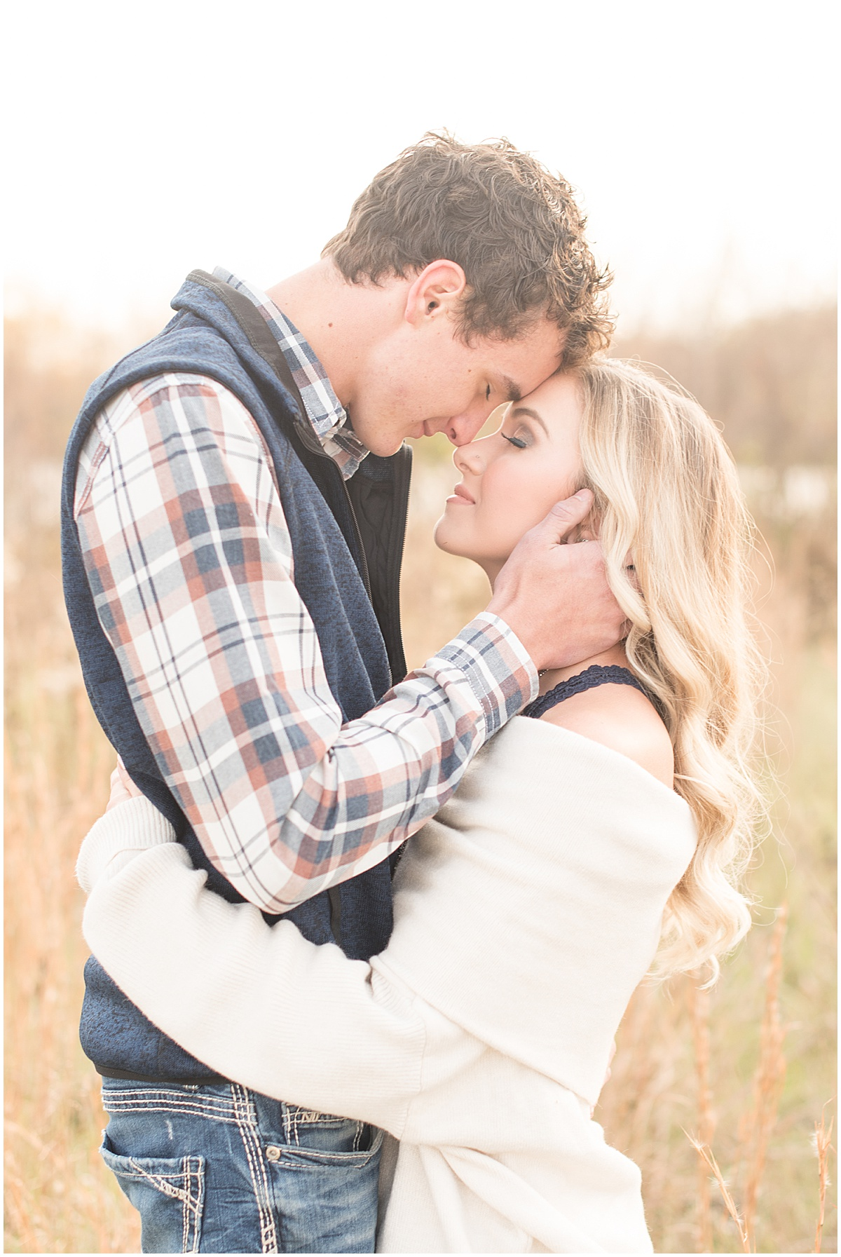 Wyatt Willson and Kaelyn Shircliff engagement session at Fairfield Lakes Park in Lafayette Indiana 16.jpg