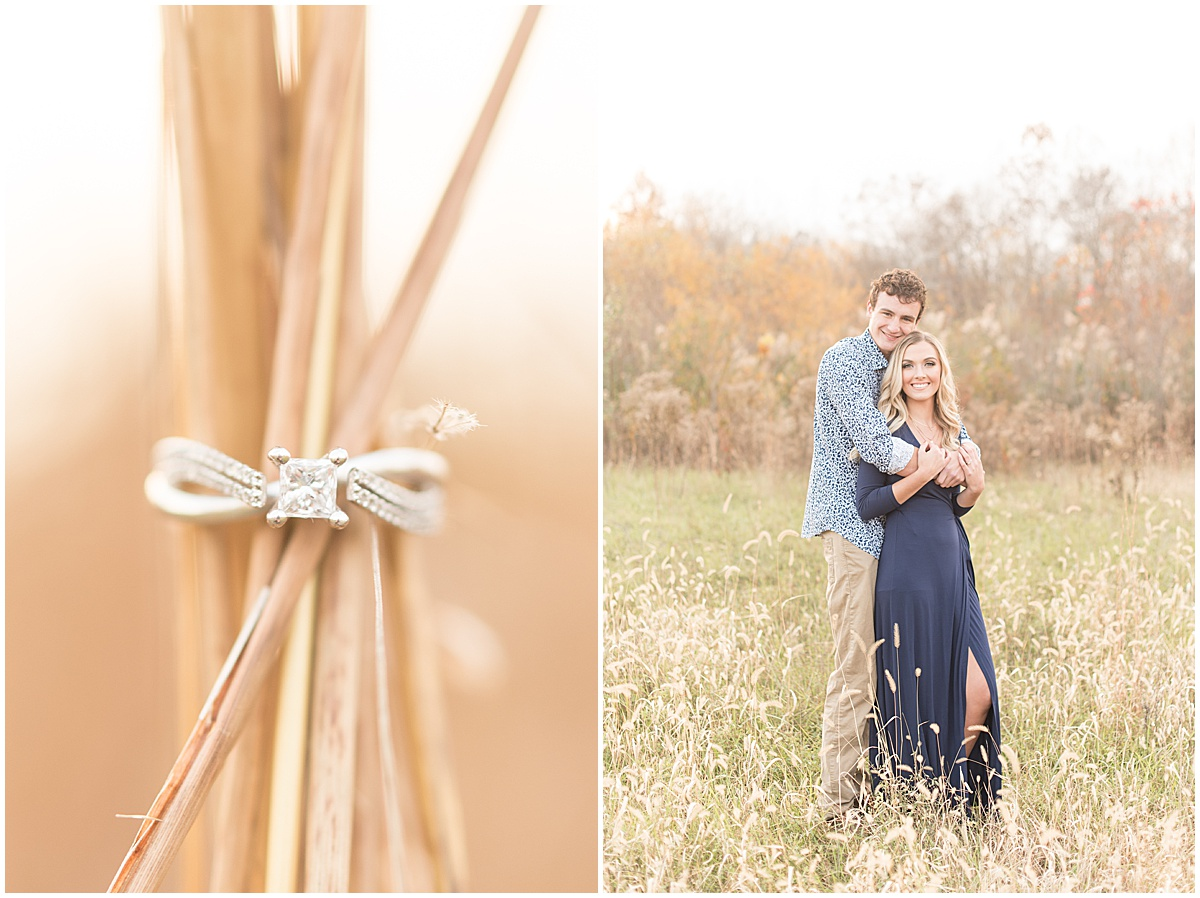 Wyatt Willson and Kaelyn Shircliff engagement session at Fairfield Lakes Park in Lafayette Indiana 26.jpg
