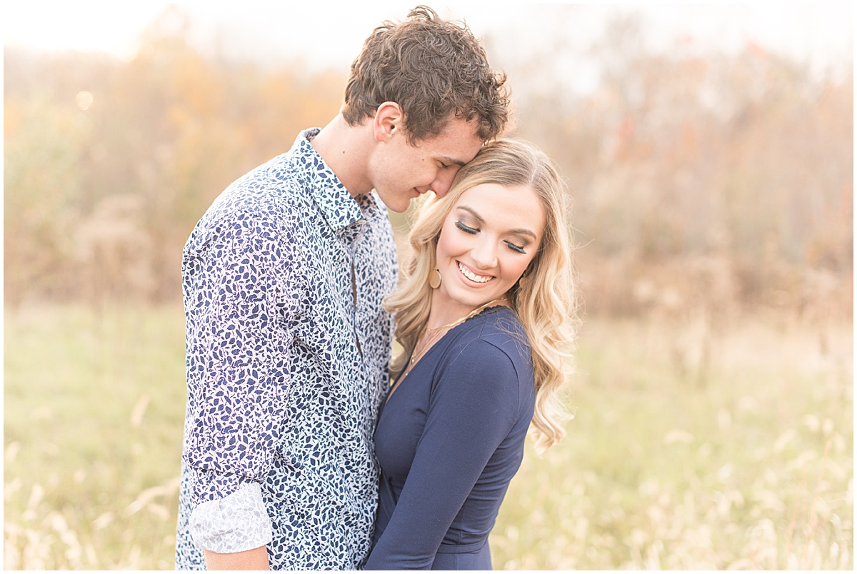Wyatt Willson and Kaelyn Shircliff engagement session at Fairfield Lakes Park in Lafayette Indiana 31.jpg