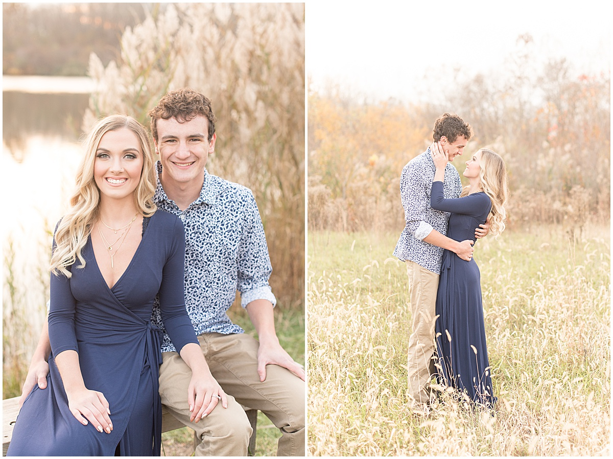 Wyatt Willson and Kaelyn Shircliff engagement session at Fairfield Lakes Park in Lafayette Indiana 37.jpg