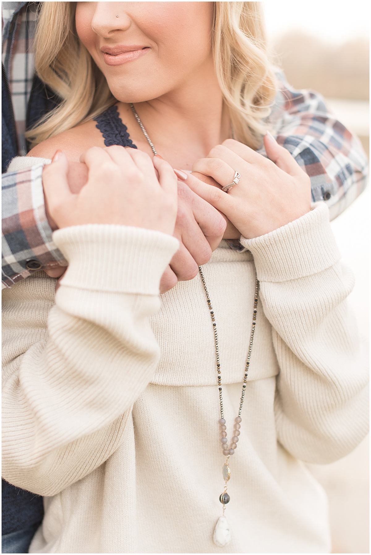 Wyatt Willson and Kaelyn Shircliff engagement session at Fairfield Lakes Park in Lafayette Indiana 4.jpg