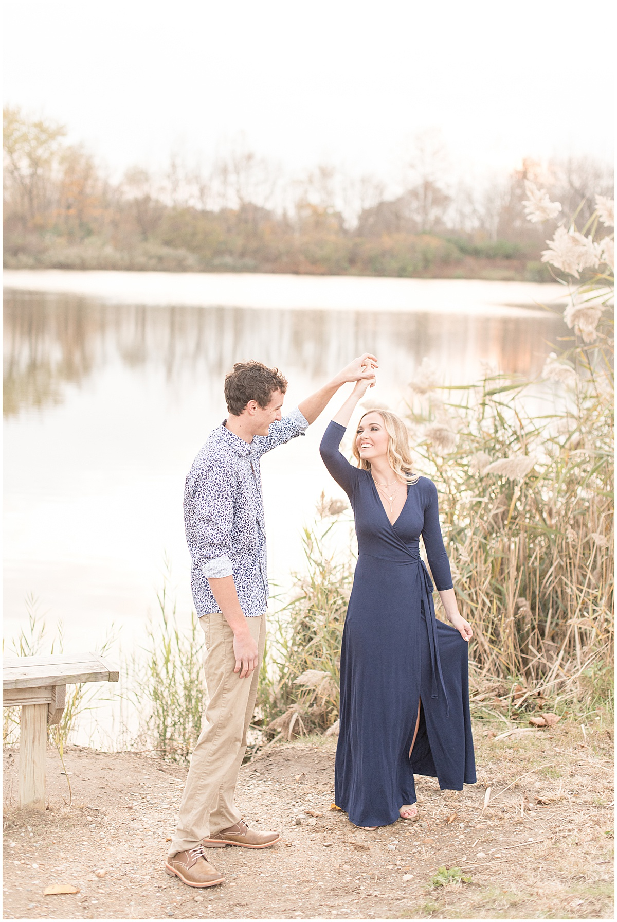 Wyatt Willson and Kaelyn Shircliff engagement session at Fairfield Lakes Park in Lafayette Indiana 45.jpg