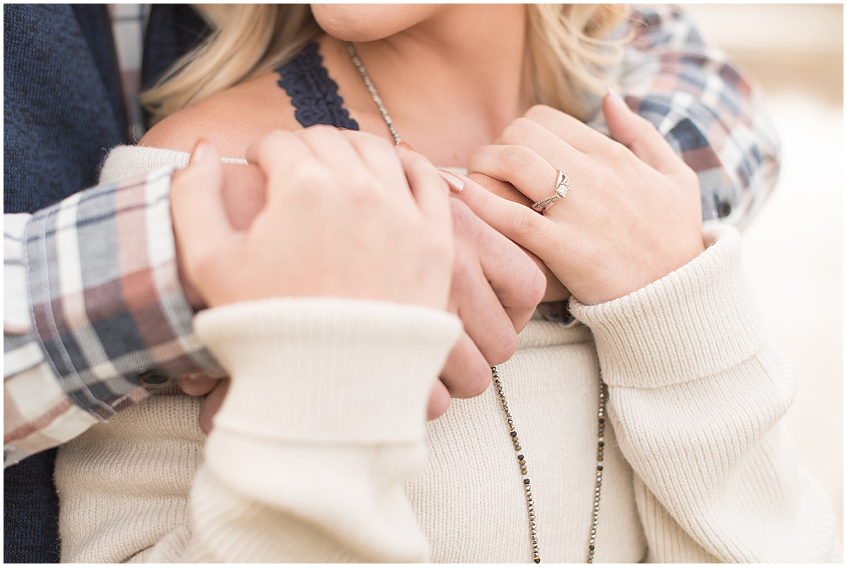 Wyatt Willson and Kaelyn Shircliff engagement session at Fairfield Lakes Park in Lafayette Indiana 6.jpg