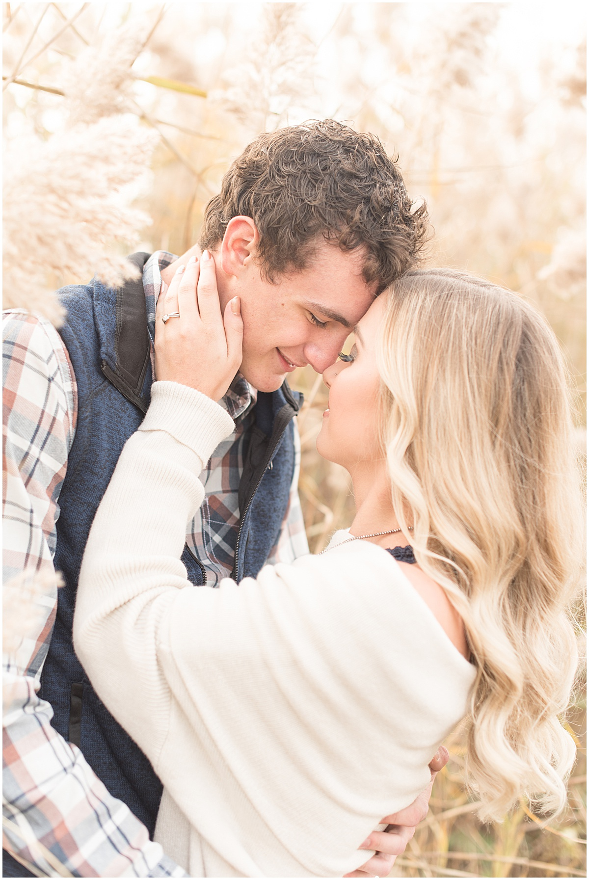 Wyatt Willson and Kaelyn Shircliff engagement session at Fairfield Lakes Park in Lafayette Indiana 7.jpg