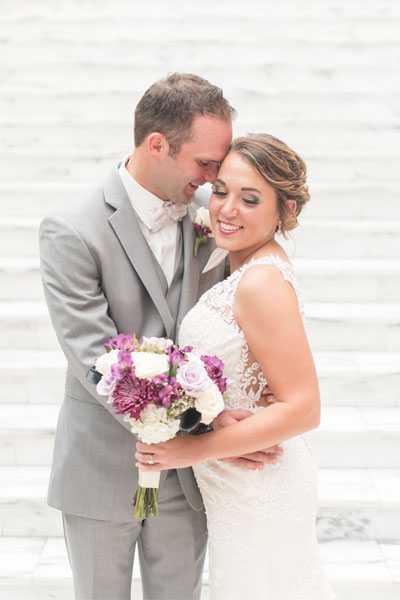 Victoria Rayburn Photography photographed Nile and Haylie Seward's Lahr Atrium wedding in Lafayette, Indiana