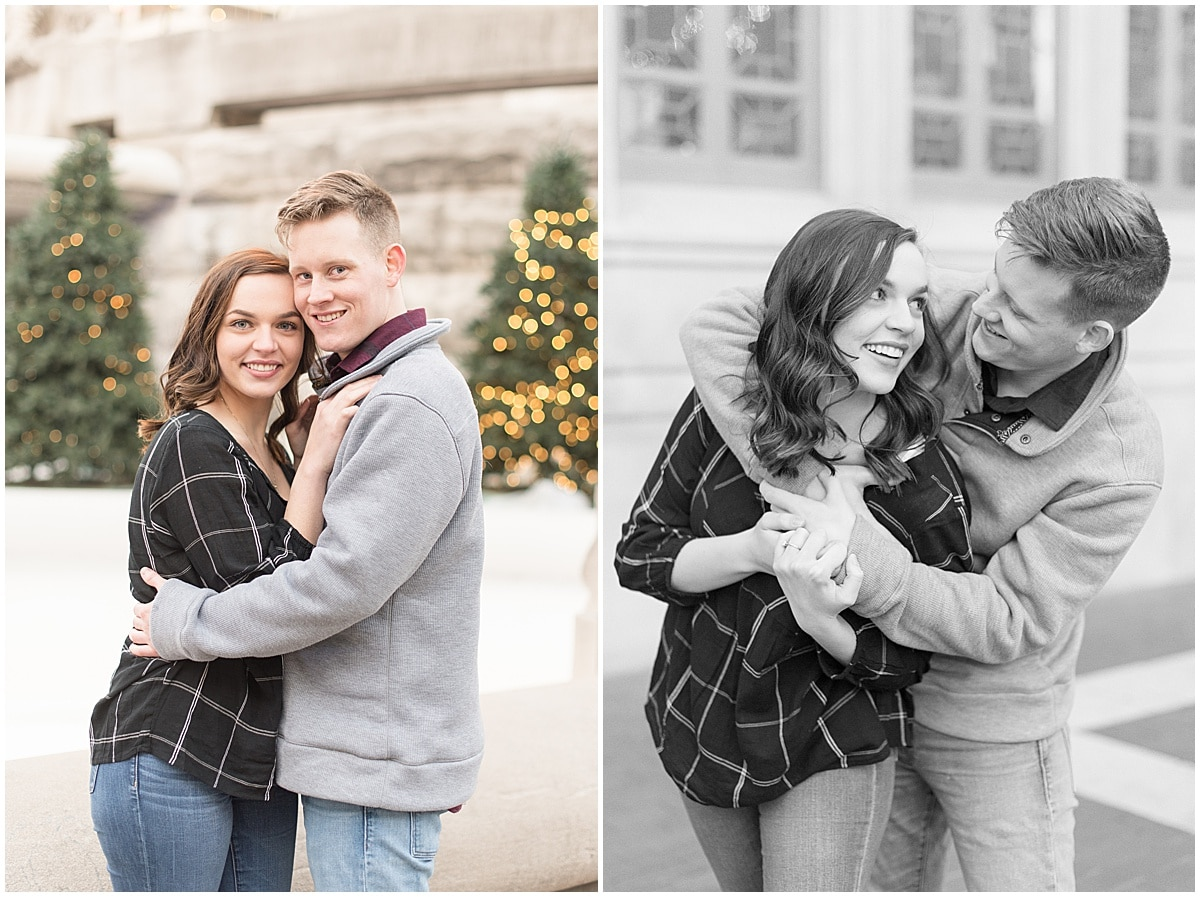 Winter Engagement Photos in Downtown Indianapolis 20.jpg