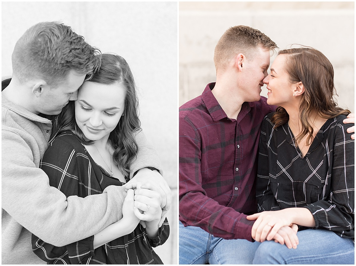 Winter Engagement Photos in Downtown Indianapolis 8.jpg