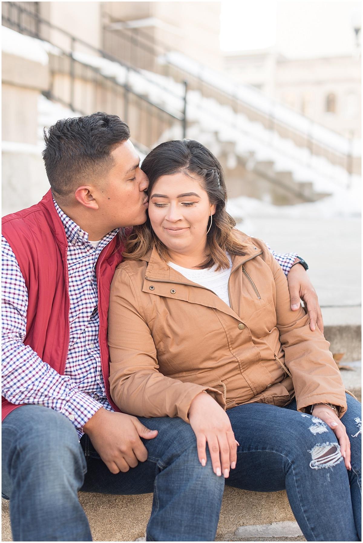 Jose & Carolina - Engagement Photos in Downtown Lafayette Indiana1.jpg