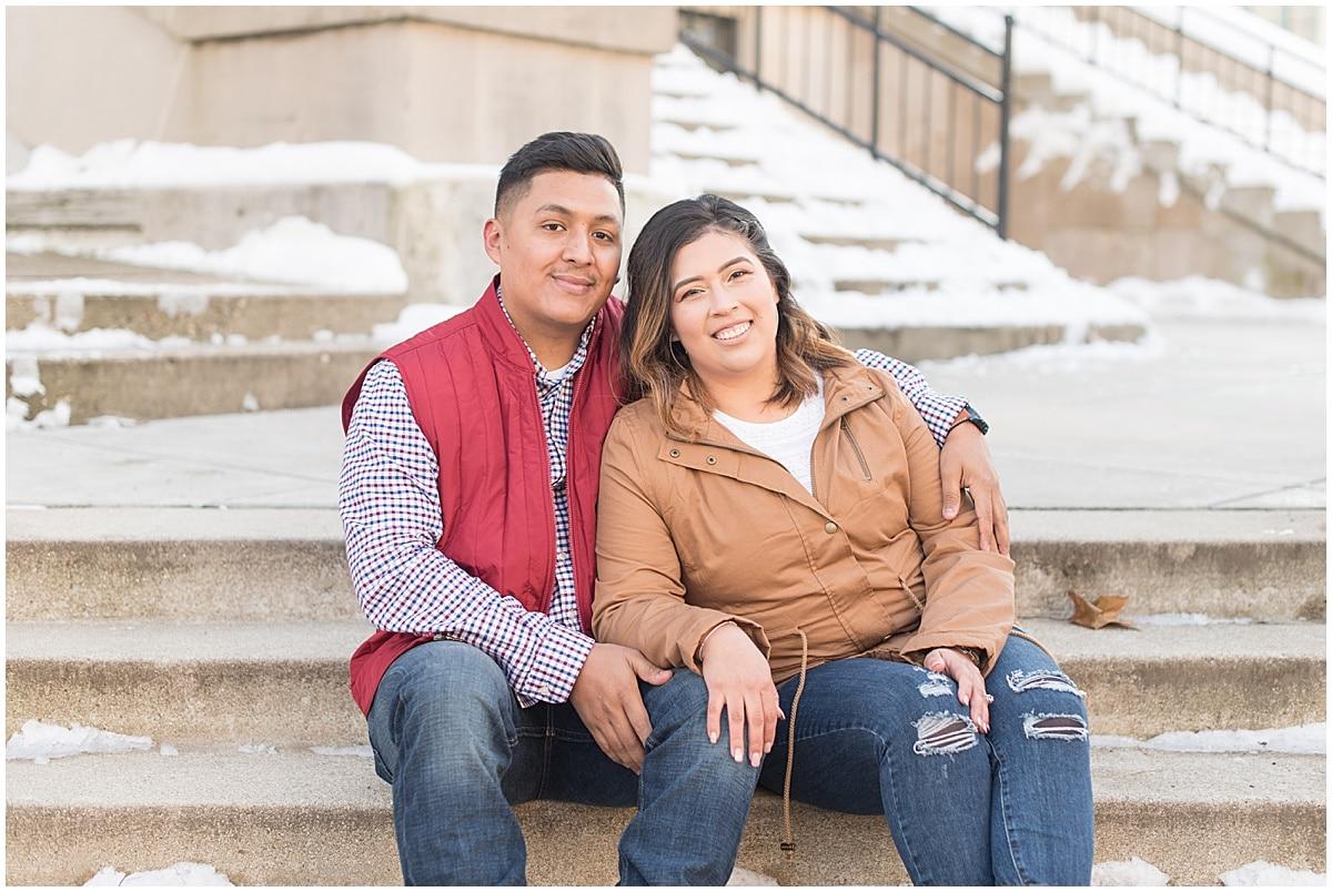 Jose & Carolina - Engagement Photos in Downtown Lafayette Indiana4.jpg