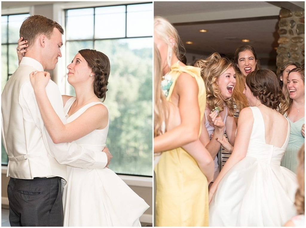Reasons to Consider a First Look on Your Wedding Day: You can get to your reception faster.