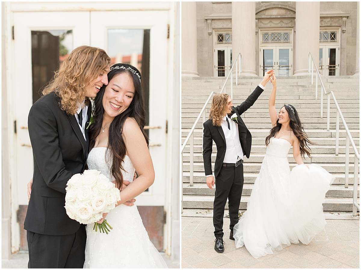 Reasons to Consider a First Look on Your Wedding Day: You can spend more time with your new spouse on your big day.