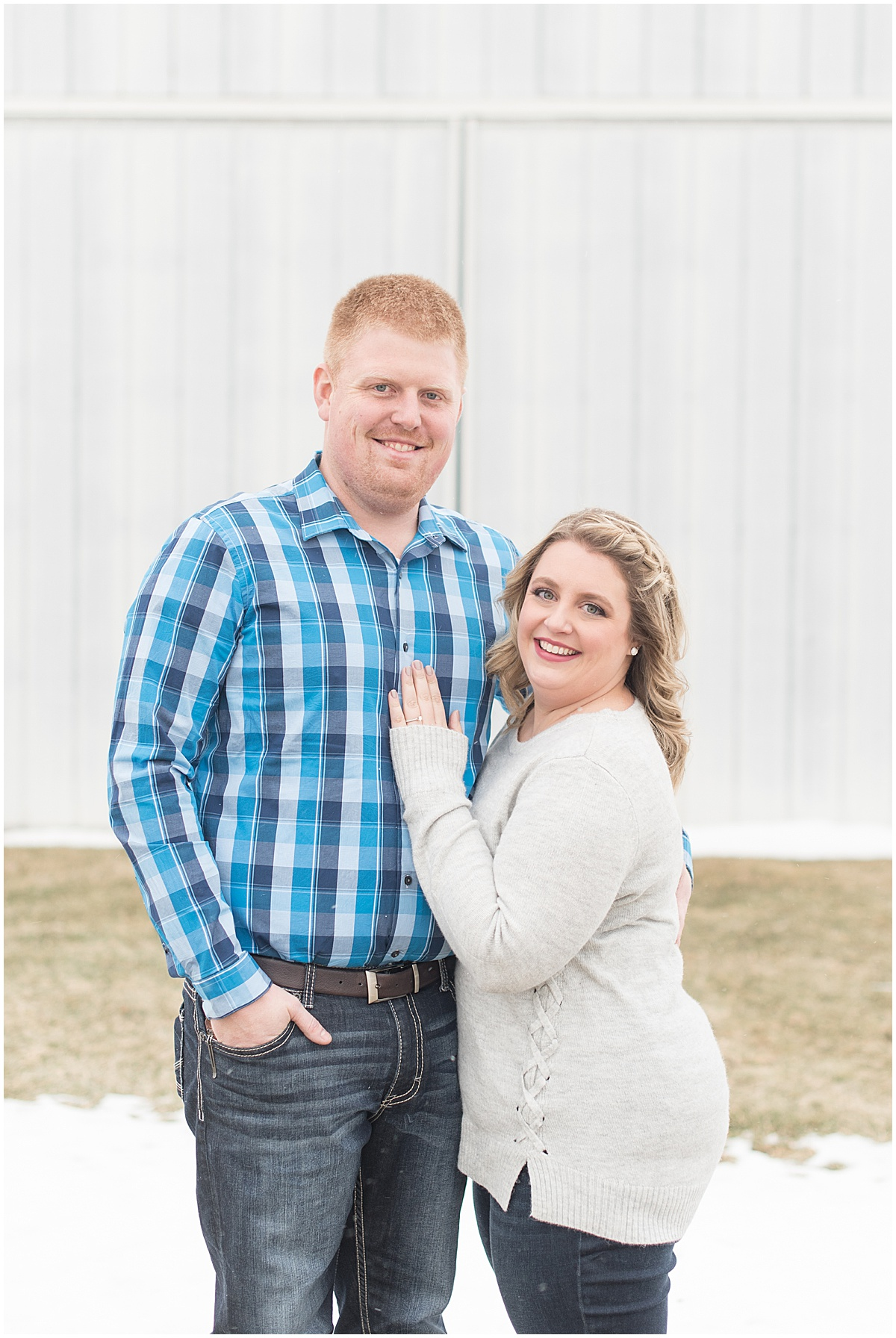 Ryan & Katie - Country Engagement Photos in Otterbein Indiana1.jpg