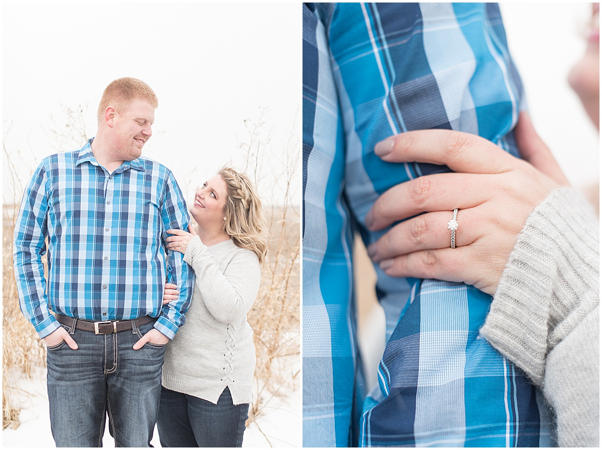 Ryan & Katie - Country Engagement Photos in Otterbein Indiana11.jpg