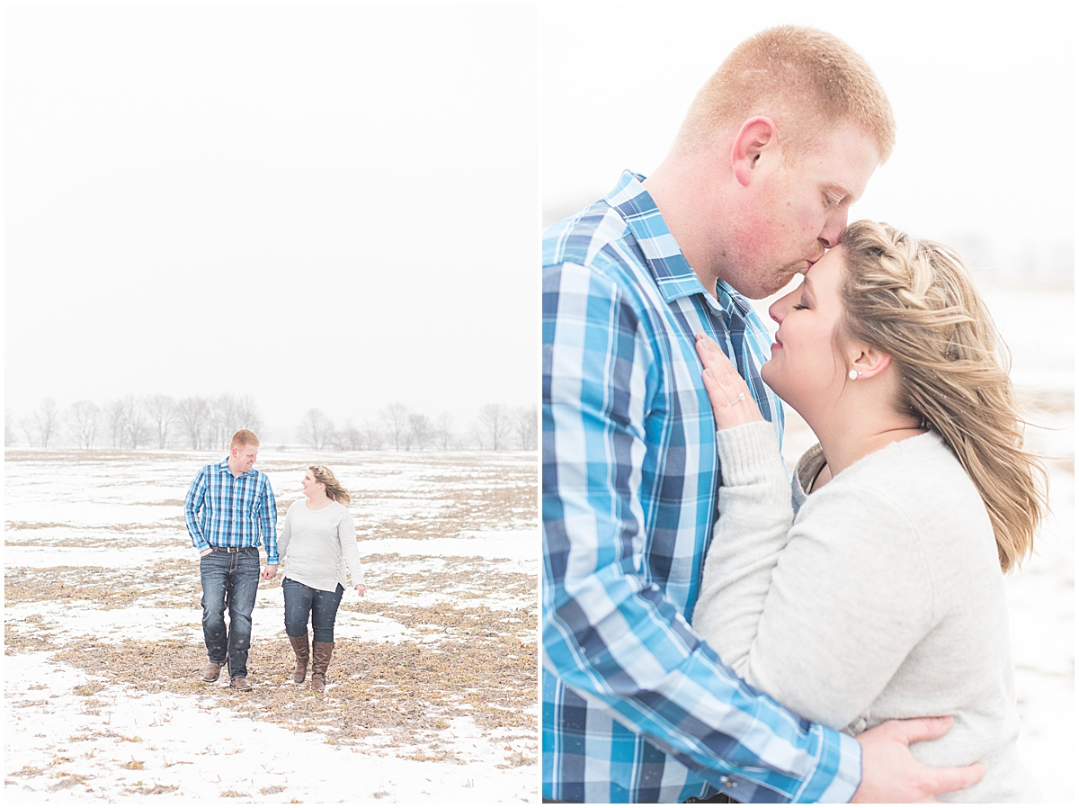 Ryan & Katie - Country Engagement Photos in Otterbein Indiana16.jpg