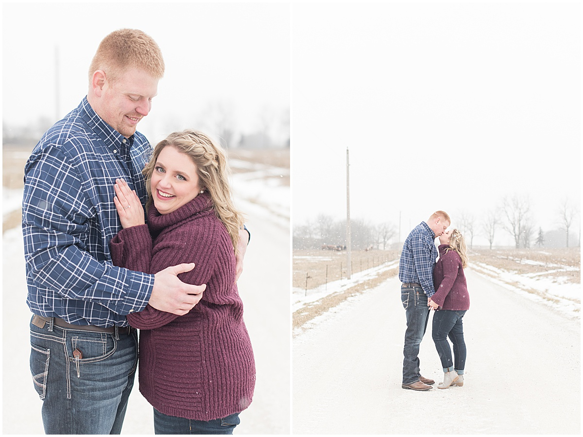 Ryan & Katie - Country Engagement Photos in Otterbein Indiana19.jpg