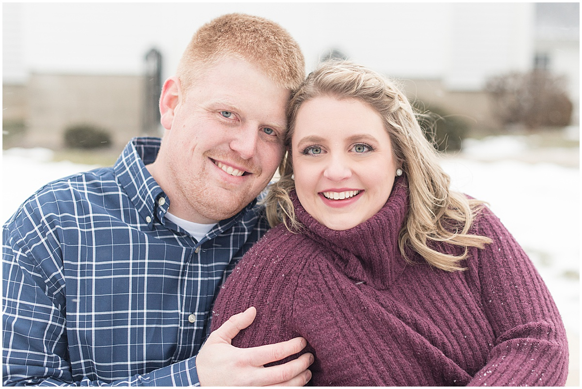 Ryan & Katie - Country Engagement Photos in Otterbein Indiana22.jpg