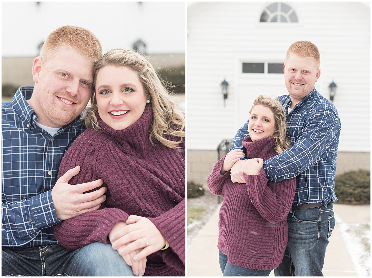 Ryan & Katie - Country Engagement Photos in Otterbein Indiana23.jpg