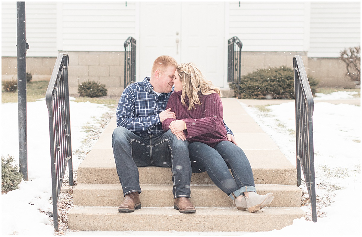 Ryan & Katie - Country Engagement Photos in Otterbein Indiana26.jpg