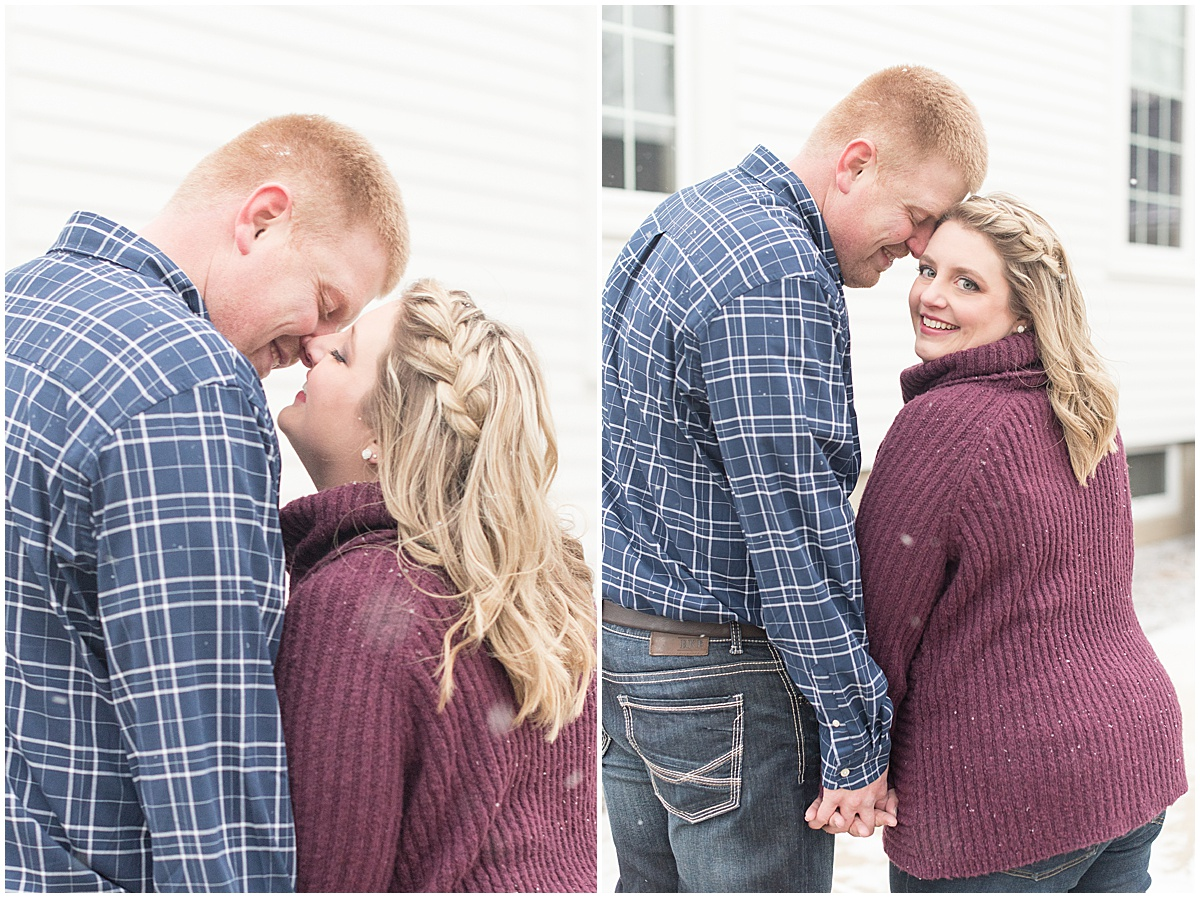 Ryan & Katie - Country Engagement Photos in Otterbein Indiana27.jpg