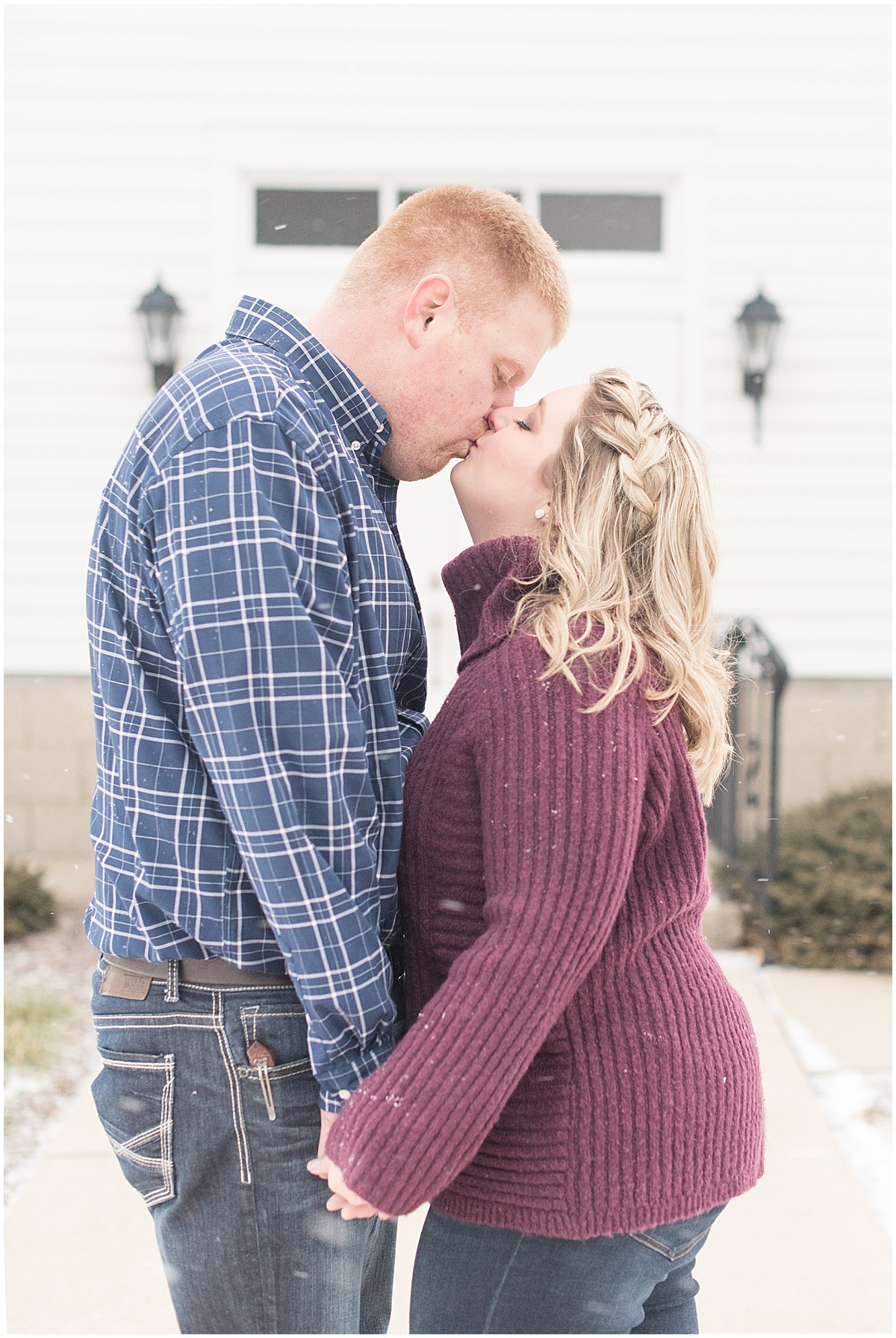 Ryan & Katie - Country Engagement Photos in Otterbein Indiana28.jpg