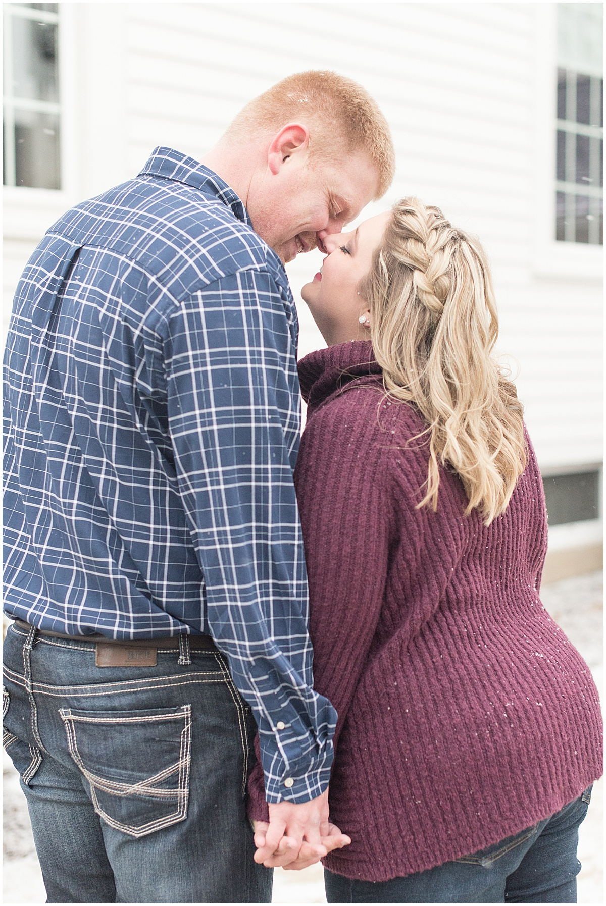 Ryan & Katie - Country Engagement Photos in Otterbein Indiana29.jpg