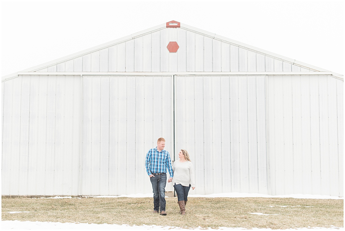 Ryan & Katie - Country Engagement Photos in Otterbein Indiana3.jpg