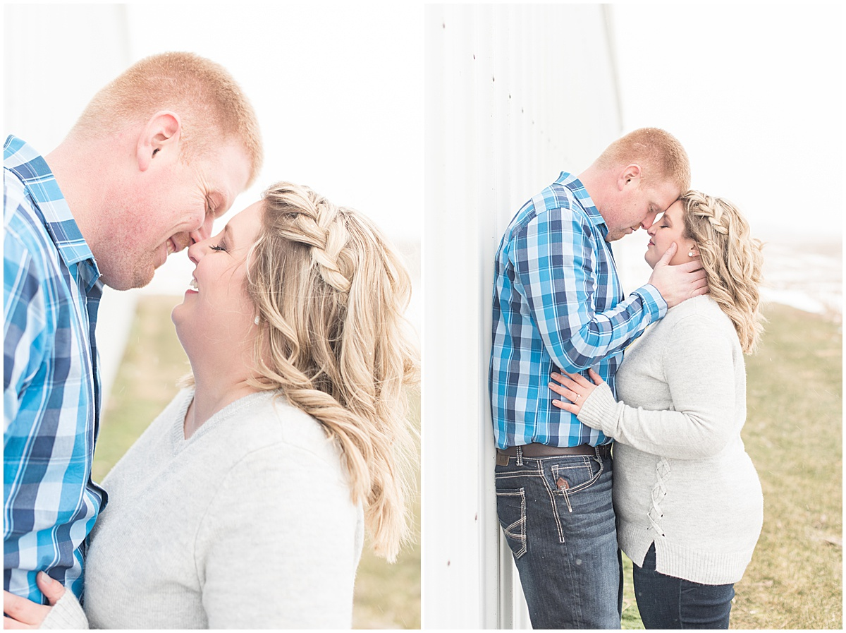 Ryan & Katie - Country Engagement Photos in Otterbein Indiana8.jpg