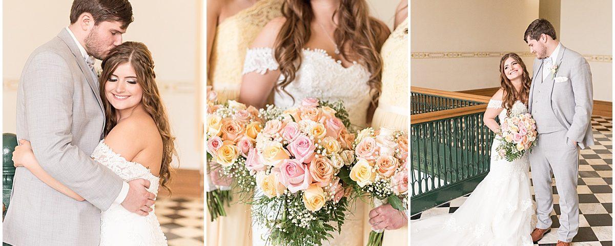 Logan and Becky Dexter's Wedding at Villa Cesare in Schererville, Indiana