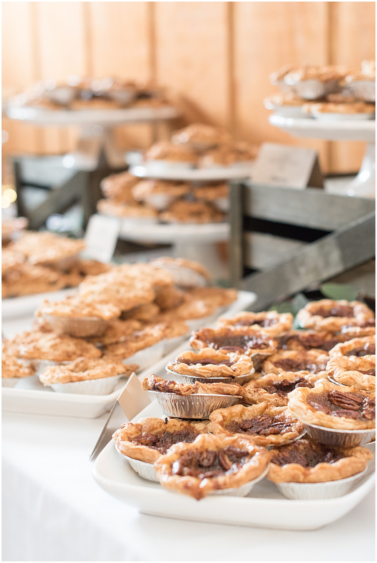 Wedding Pies Made by Sweet Revolution Bake Shop