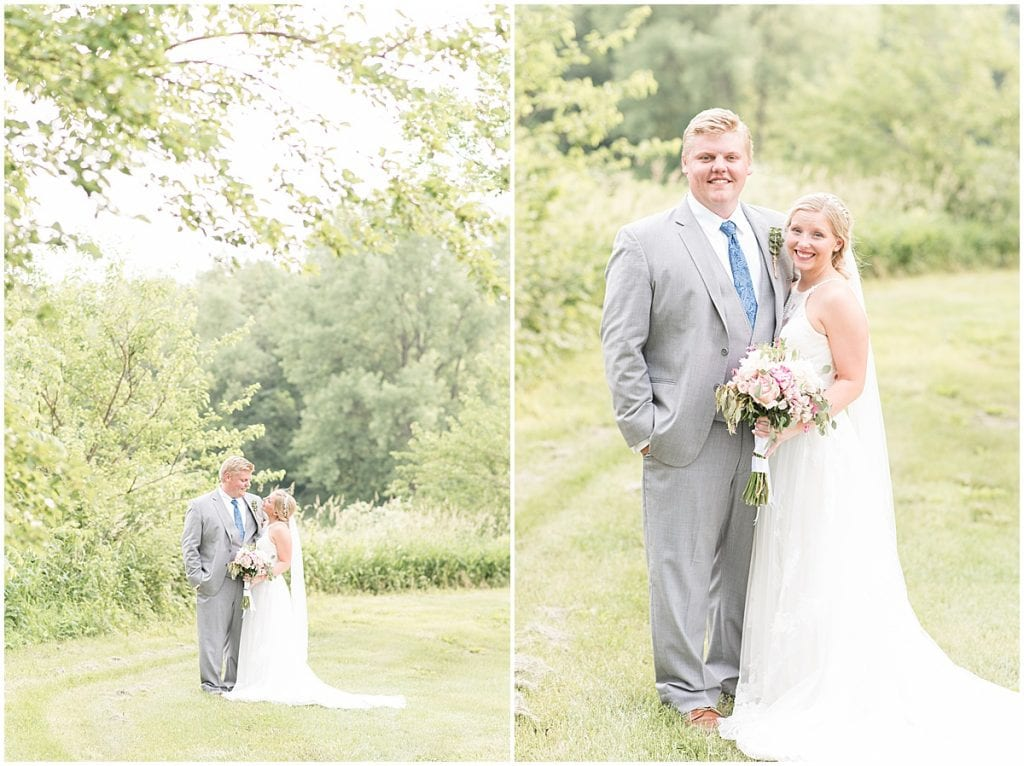 Tyler and Baileigh Van Wanzeele celebrated their wedding at The Barn in Lafayette, IN