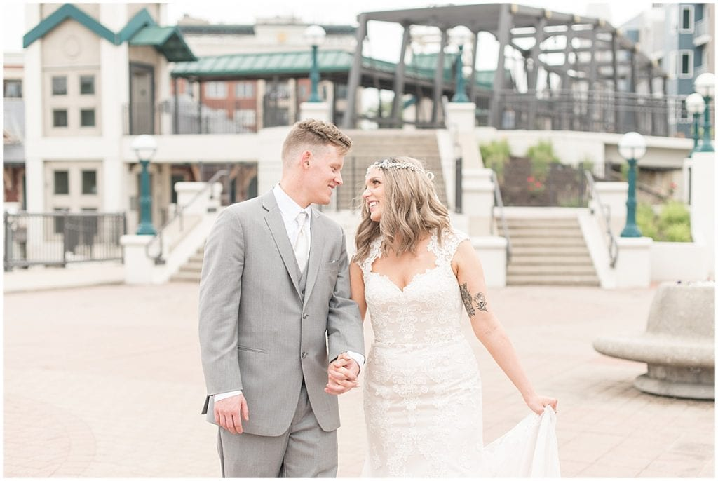 Wedding at the Rat Pak Venue in Lafayette, Indiana