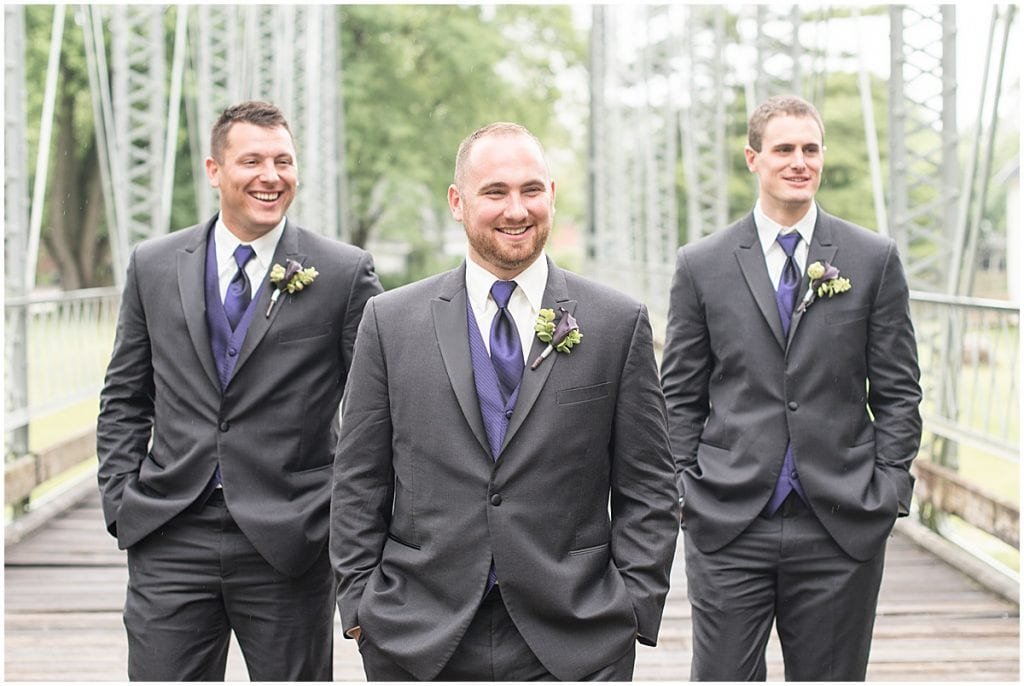 Wedding at the Wabash Erie Canal Park in Delphi, Indiana