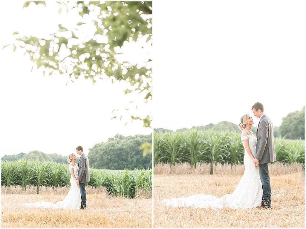 Summer Wedding at Vintage Oaks Banquet Barn in Delphi, Indiana