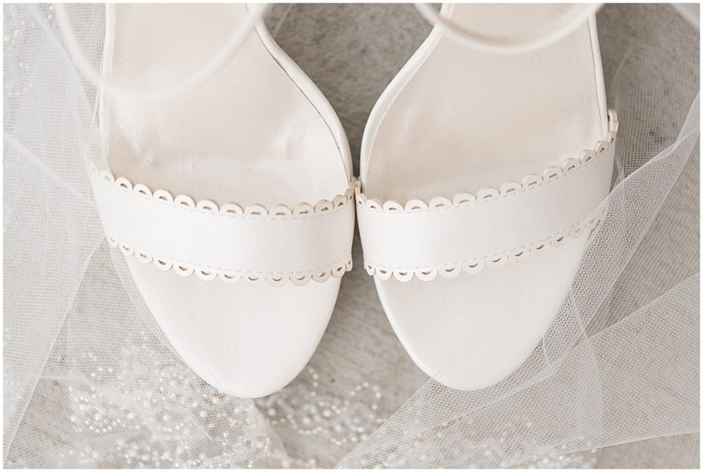Wedding shoes at Exploration Acres