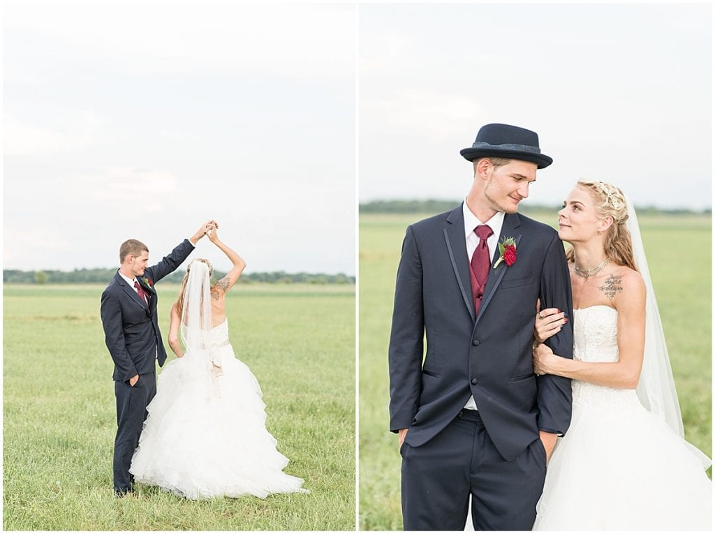 Wedding at Exploration Acres in Lafayette, Indiana